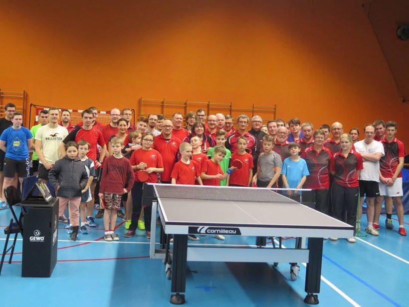 Tournoi Tennis de table Guise