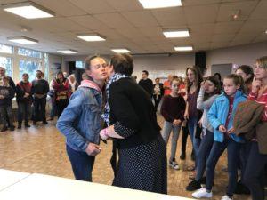 Remise de diplôme au collège de Sains-Richaumont