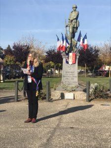 Commémoration à Couvron