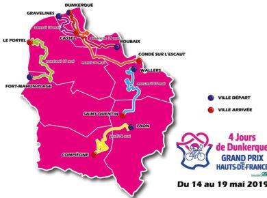 Découvrez le parcours des 4 Jours de Dunkerque / Grand Prix des Hauts-de-France 2019 ! 🚴♂🚴♂🚴♂ Pour la première fois, la course traversera les 5 départements de notre région ! ➡ http://www.hautsdefrance.fr/4-jours-de-dunkerque-le-parcou…/