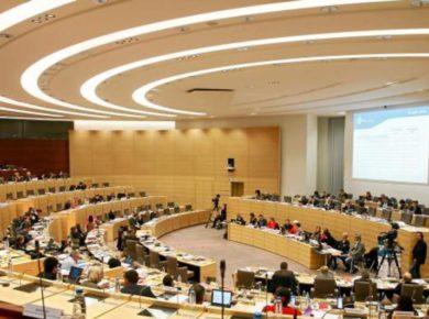 Séance plénière Conseil régional des Hauts-de-France