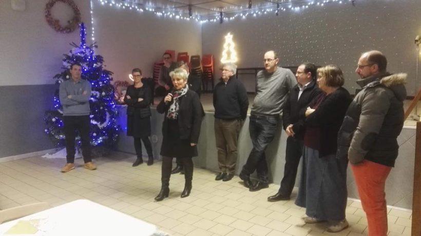 Vœux à Monceau- Le Neuf avec Mr Van Isacker