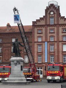Tous les intervenants lui ont rendu hommage pour son efficacité, son sérieux et pour son sens aigu du service. Les sapeurs-pompiers du centre de secours honorés, gradés lors de la cérémonie.