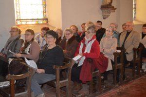 Concert « Balade en Hiver » donné par l'Ensemble Vocal Cantare au profit de l'UNICEF en l'église de Voharies !🎵