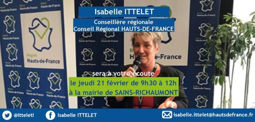 Isabelle Ittelet Conseillère Régionale Hauts-de-France