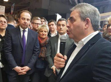 Salon de l'Agriculture Paris Inauguration du stand HDF