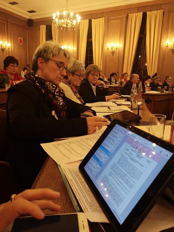 Séances plénières des 18 et 19 mars - Budget primitif et programmation au Conseil Départemental de l'Aisne à Laon.