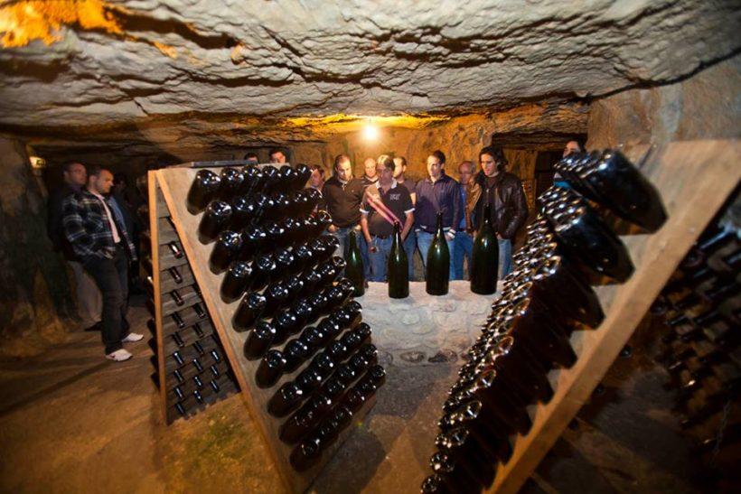 la Maison de Champagne PANNIER qui décroche la médaille d'or aux Trophées de l'œnotourisme