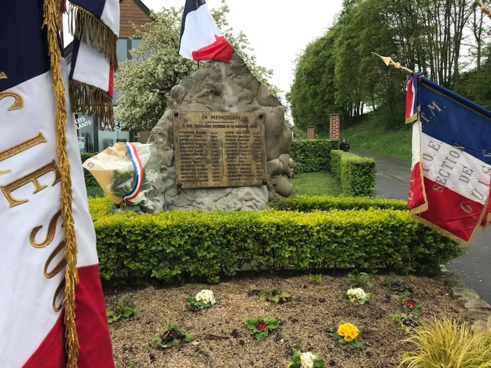 Journée nationale du Souvenir de la Déportation 74 éme Anniversaire de la libération des camps de concentration