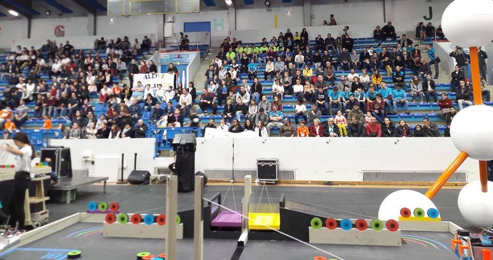 La finale nationale de robotique à Saint Quentin