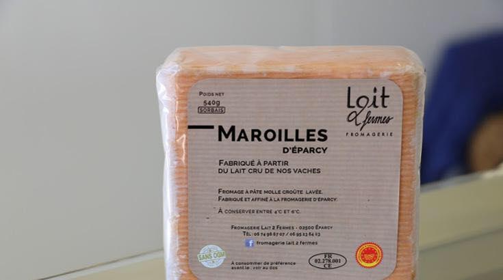 Maroilles Lait 2 Fermes de La Thiérache Foire Coulommiers