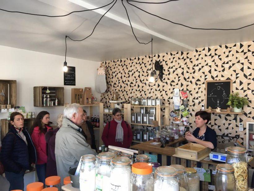 visite de l'entreprise Le Renard'eau Savonnerie et épicerie vrac