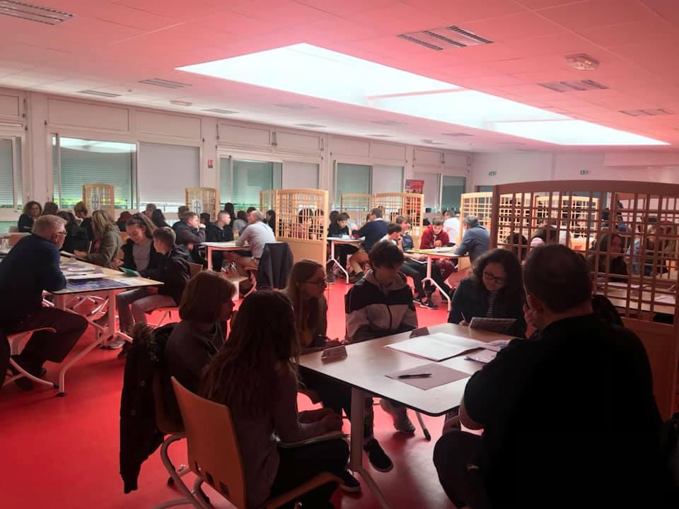 Forum des Métiers au Collége Jacques prévet à Marle