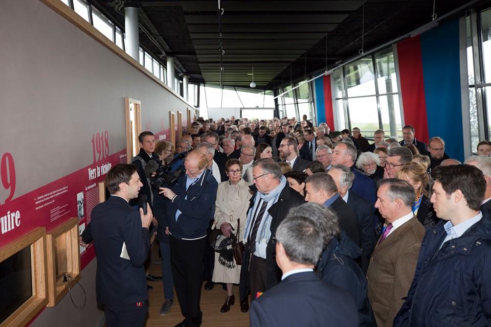 Chemin des Dames : Le Centre d'Accueil du Visiteur est ouvert.