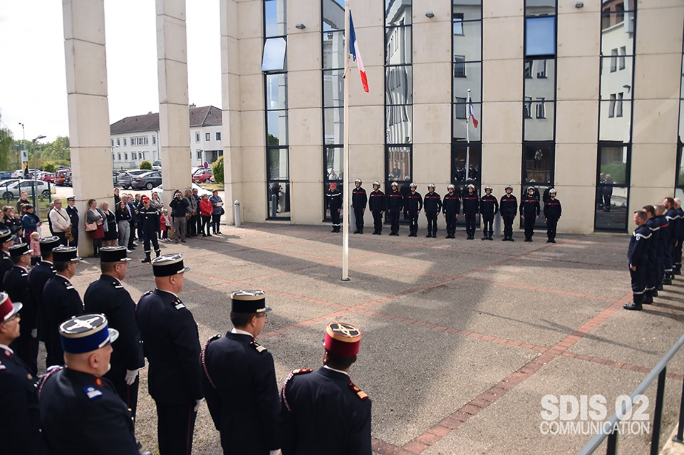 Baptême de la promotion du SDIS de l'Aisne