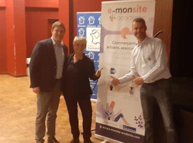 Lancement e-monsite & Région HDF