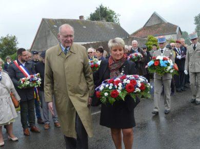 Commémoration à Vaux-Andigny