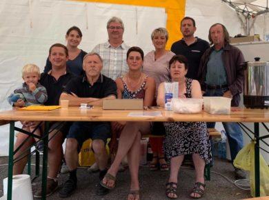 Belle & agréable brocante avec de belles rencontres dans la commune de Châtillon-lès-Sons.