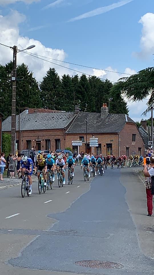 passage du Tour de France en thiérache