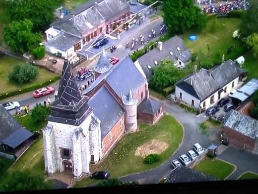 Magnifique ambiance pour le passage du Tour de France