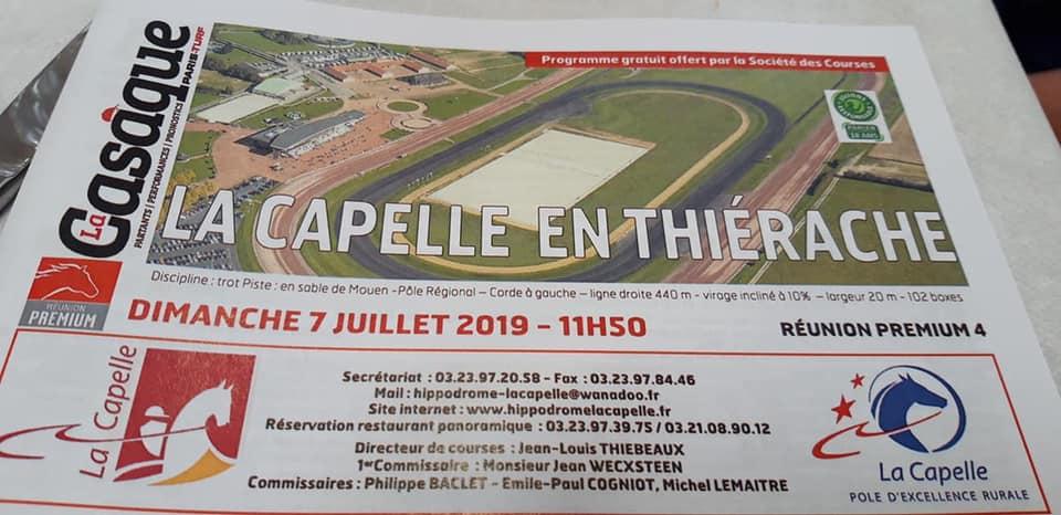 6ème course - Prix des Sociétés de Courses du T.G.V. à Hippodrome international de La Capelle en Thiérache.