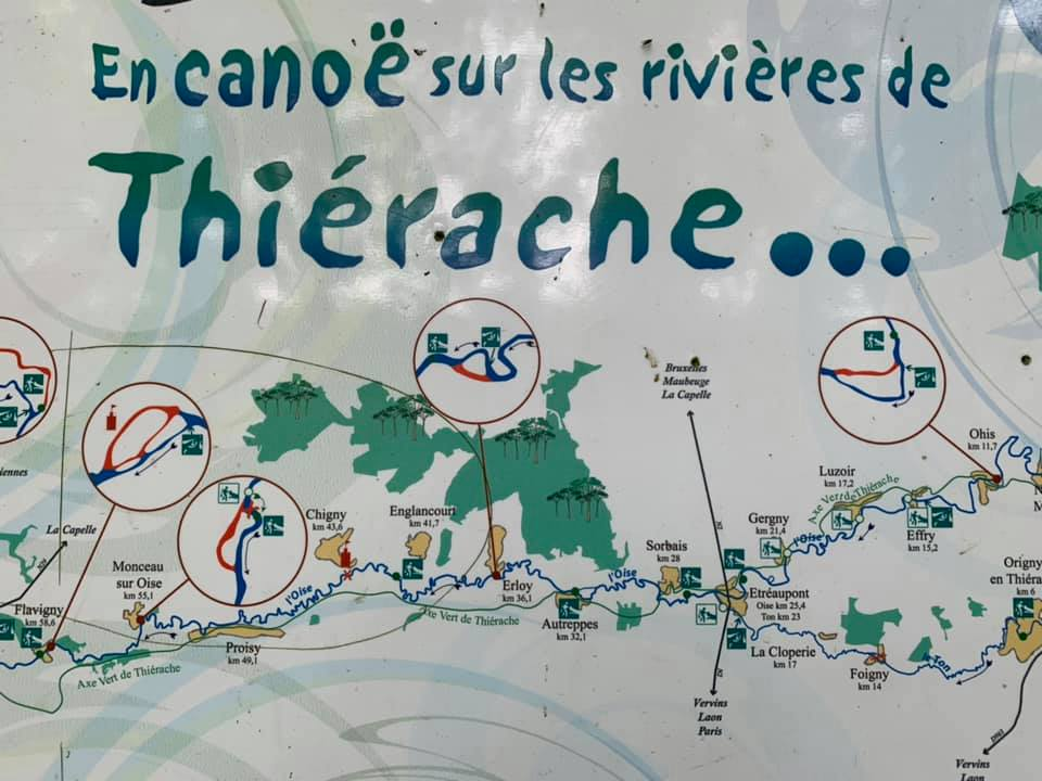 Du canoë en Thiérache c'est possible avec Canoe Kayak Evasion Autreppes