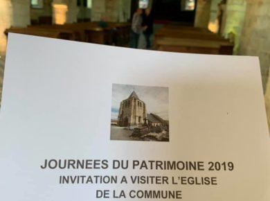 Journées du Patrimoine - Portes ouvertes de l'église St Médard