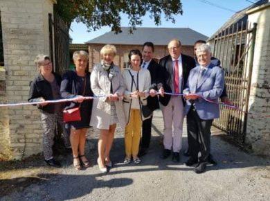 Inauguration des travaux à PUISIEUX ET CLANLIEU