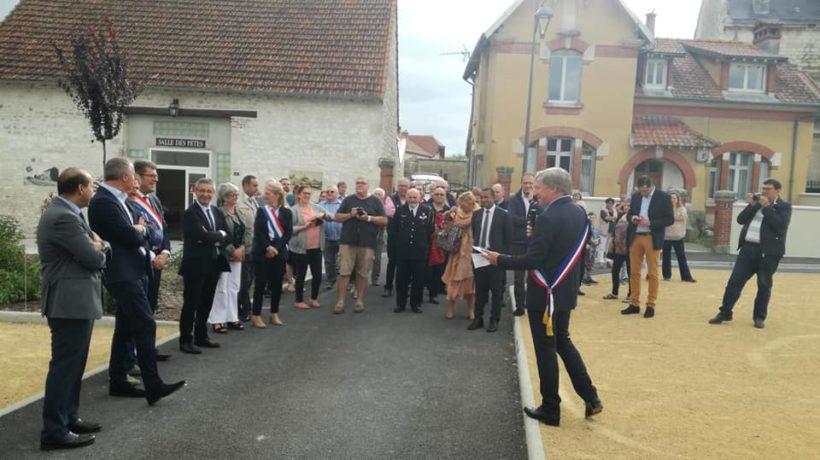 Le Département accompagne les communes dans la modernisation et l'aménagement des cœurs de village.
