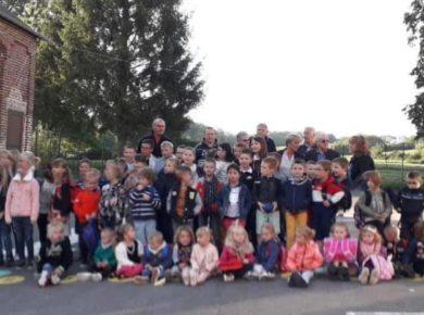 📚La rentrée scolaire en images au regroupement scolaire de Saint-Gobert Canton de Marle, la Thiérache