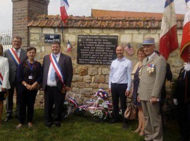 Commémoration à Barenton-sur-Serre