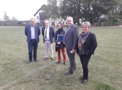 Inauguration des vestiaires au Lycée Agricole de Thiérache !