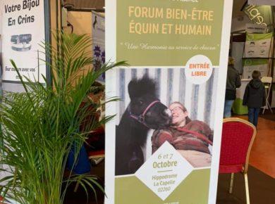 Le Comité Régional d'Equitation des Hauts-de-France a organisé un forum sur le bien-être équin et humain à La Capelle !