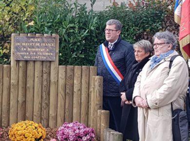 🇫🇷 Inauguration de la place du Bleuet de France à Richaumont, ce samedi 9 novembre 2019.