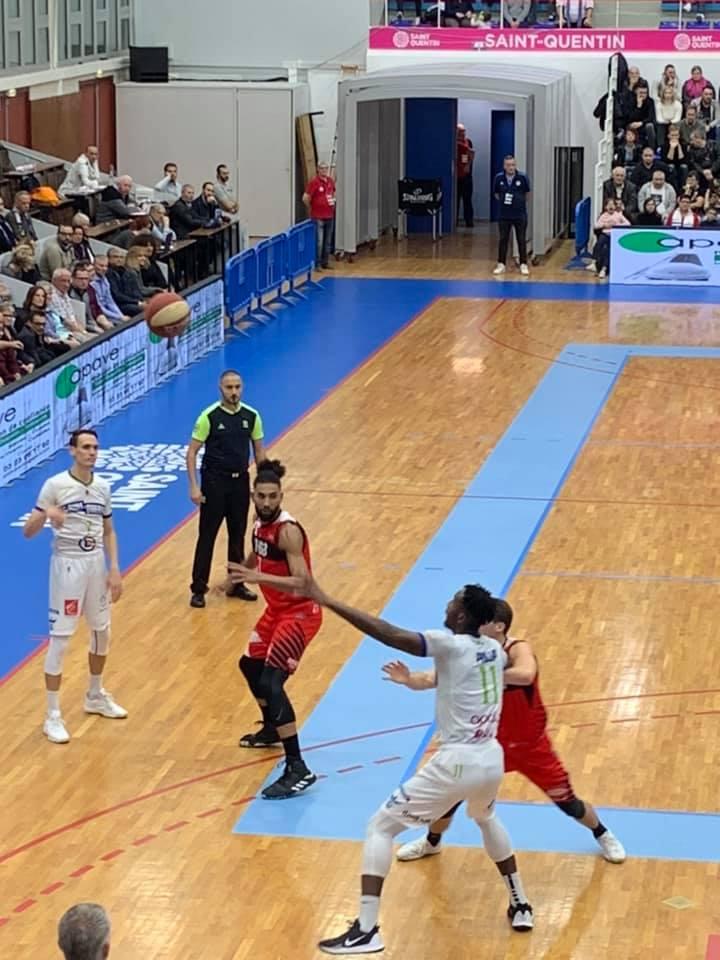 Palais des Sports Pierre Ratte à Saint-Quentin...SQBB/AIX