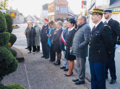 🇫🇷 Cérémonie d'hommage et de mémoire à l'occasion de l'Armistice du 11 novembre 1918 Collège Villart de Honnecourt Fresnoy-le-Grand, 8 novembre 2019 🇫🇷