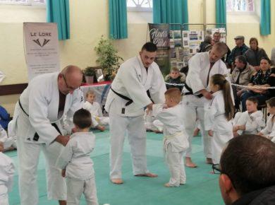 Des judokas lors de la Foire d'Automne de Guise