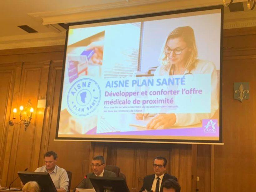 📍Séance plénière & Commission Permanence au conseil départemental de l'Aisne à LAON.