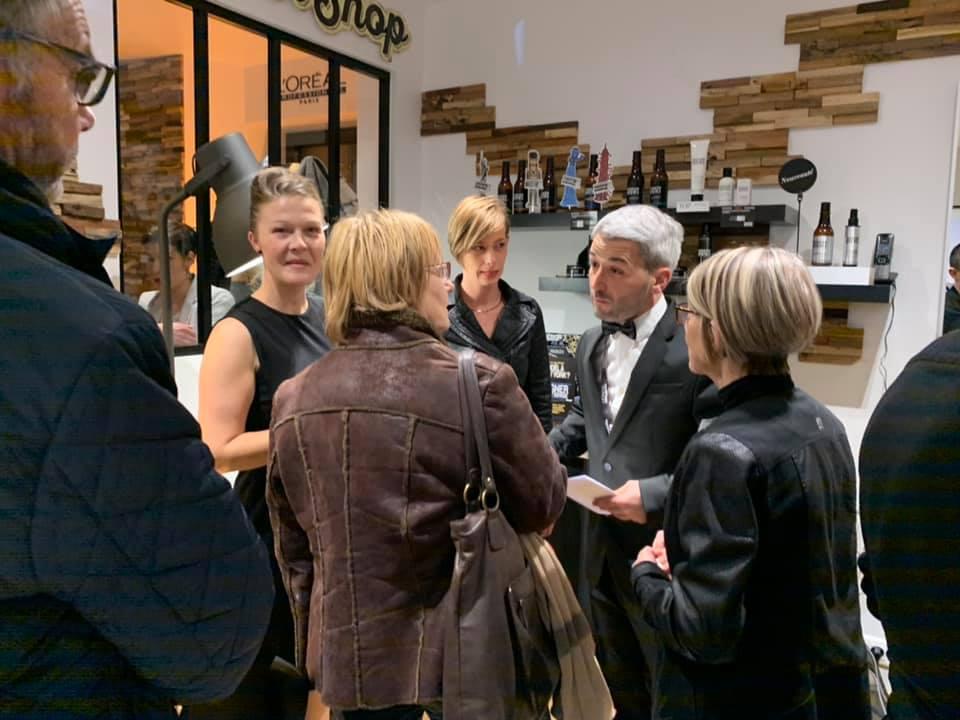 Nos artisans coiffeurs -Inauguration du ton 3 ème salon de coiffure de Loïc à La Capelle