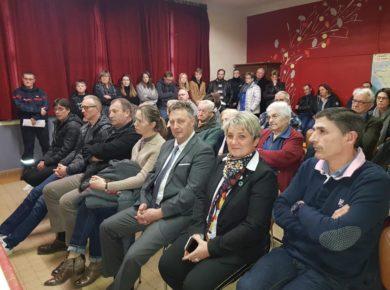 Voeux 2020 dans la commune de Rougeries / Canton de Marle, la Thiérache