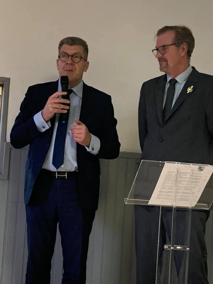 Inauguration de la nouvelle mairie & Cérémonie de Vœux dans la commune de Petit-Verly en Thiérache !