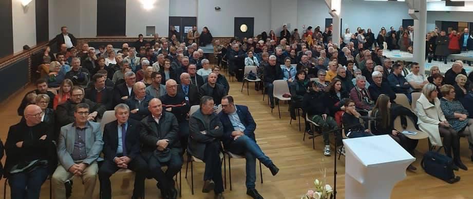 [Voeux 2020] Salle comble à Boué en Thiérache !
