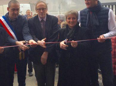 Inauguration de la salle des fêtes & voeux du conseil municipal dans la commune de La Neuville-Bosmont