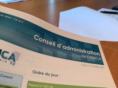 📒 Conseil d'administration de l'ADICA