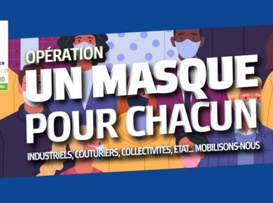 😷 Une première livraison de masques est arrivée à Vervins en Thiérache !