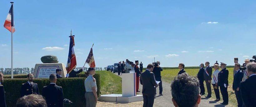 🇫🇷 Général de Gaulle, Hommage à Montcornet en Thiérache !