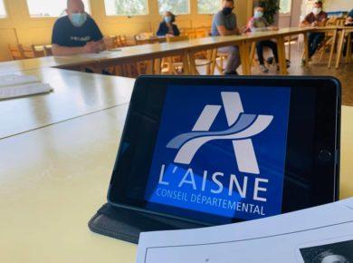 📌 Conseil d'administration au Collège « Quentin de la Tour » de Sains-Richaumont !