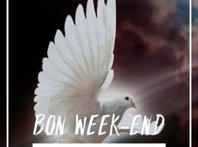🌸 Bon week-end de la Pentecôte à tous !