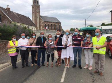 Inauguration du Marché du Terroir et d'Art à Oisy en Thiérache !