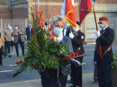 Cérémonie du 76e anniversaire du massacre du Gard d'Etreux